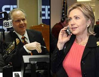 limbaugh made last minute push for hillary