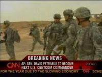 petraeus chosen as new centcom commander