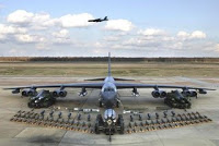 barksdale b52's practice surge + 'operation green flag'