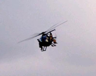 police state of mind - black helicopters over portland