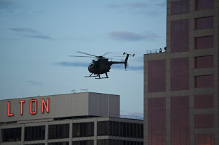 portland to black helicopters: stick to jantzen beach area