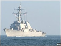 russian & US warships engaged in black sea standoff