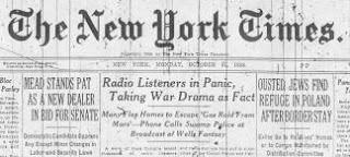 wotw created nationwide panic & helped establish radio