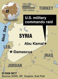 the cia led US strike in syria that killed 8