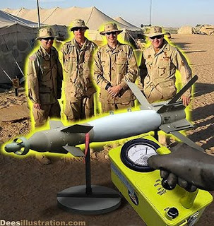 horror of US depleted uranium in iraq threatens the world