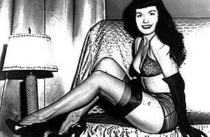 bondage babe bettie page dies at 85