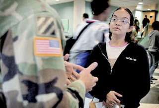 'soldiers of misfortune': recruiting kids to serve in the military