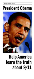 new 9/11 brochure for obama inauguration