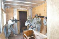 guardsmen train for urban conflict