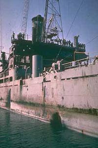 june 8, 1967: uss liberty attacked by israel in intl waters