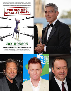 the men who stare at goats: jon ronson's book as fiction film