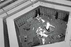 9/11 drill for simulated plane crash 5min before pentagon attack