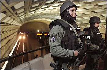 dc metro transit police stage large anti-terrorism drill