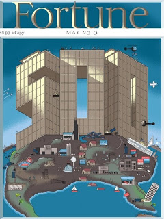 chris ware's rejected fortune cover paints honest, dismal picture of american capitalism