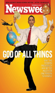 obama on newsweek as shiva the destroyer
