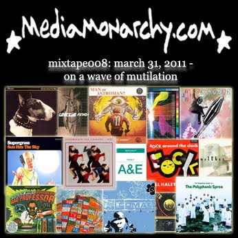 media monarchy mixtape008: on a wave of mutilation
