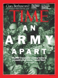 an army apart: the widening military-civilian gap - 45,000 troops are coming home to a country that doesn't know them