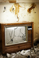 rabbi destroys tv's in religious ritual