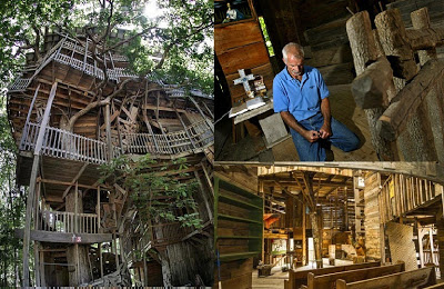 Divinely Inspired Tree House Gets Minister Closer To Heaven