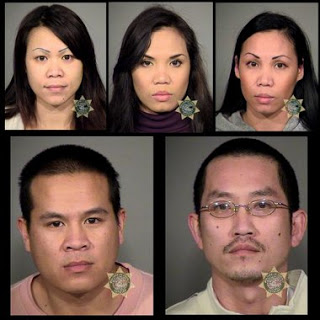 Five Suspects Busted in Funny Money Ring