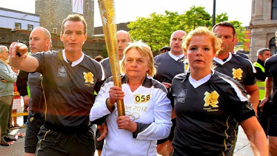 Olympic Flame Departs Ireland Troubles, Illuminates Scotland