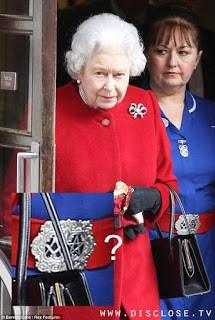 Queen Elizabeth's Belt Reveals Affiliations