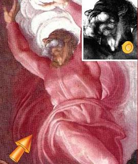Michelangelo's Secret Message in the Sistene Chapel