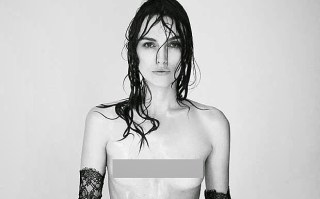 #KeiraKnightley's Topless Photoshoot Was #Photoshop Protest