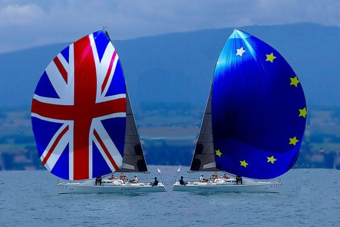 Brexit - UK and EU sailing apart