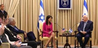 Nikki Haley visiting Israel in June 2017