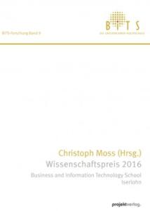 Christoph Moss Wissenschaftspreis 2016