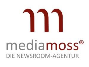 Mediamoss Die Newsroom-Agentur Logo