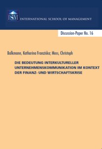 Christoph Moss Katharina Balkmann Interkulturelle Kommunikation
