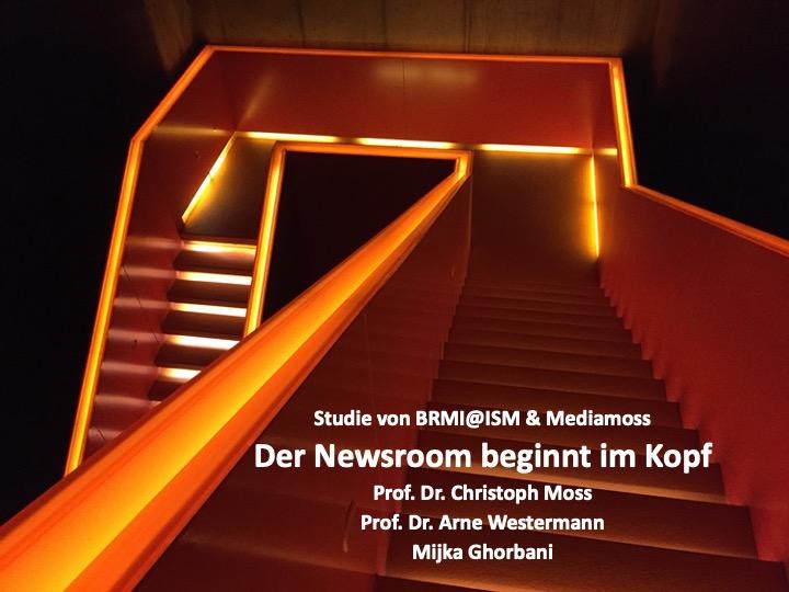Mediamoss Newsroom Studie Oktober 2019