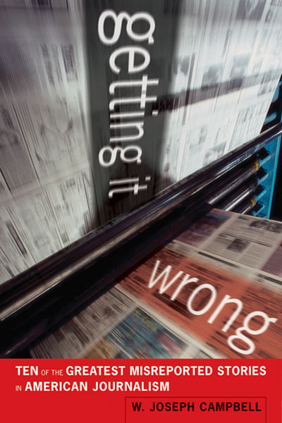Getting It Wrong available in spring 2010