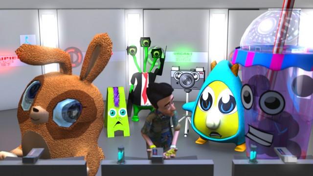 TouchFree, 2013, Peter Chanthanakone, 3D animated short film (5:05), ©Peter Chanthanakone.