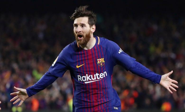 ميسي يحلق منفرداً في صدارة هدافي الدوري الإسباني