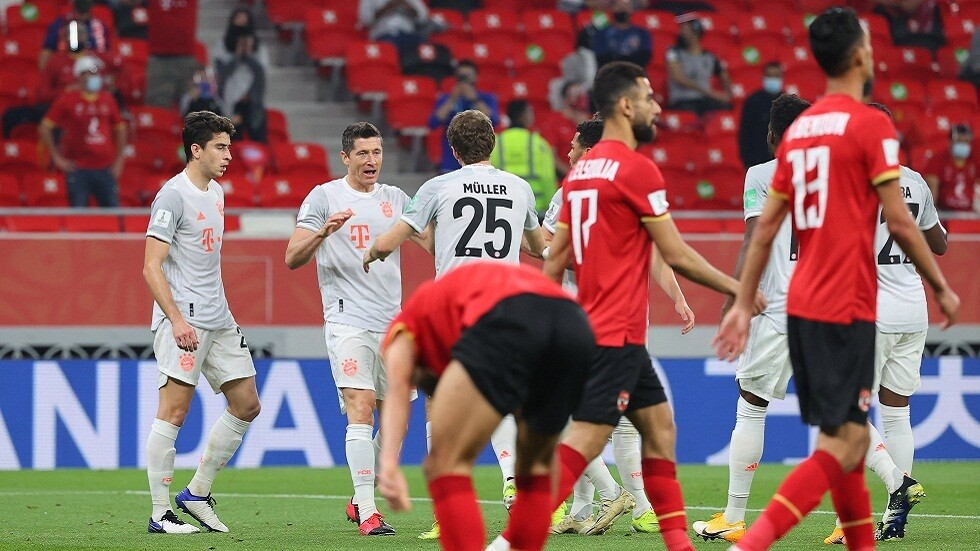 بايرن ميونخ يهزم الأهلي المصري ويتأهل لنهائي كأس العالم