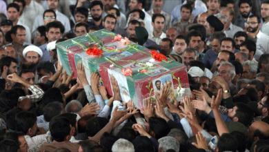 مقتل 4 عناصر من الحرس الثوري الإيراني على يد مجهولين