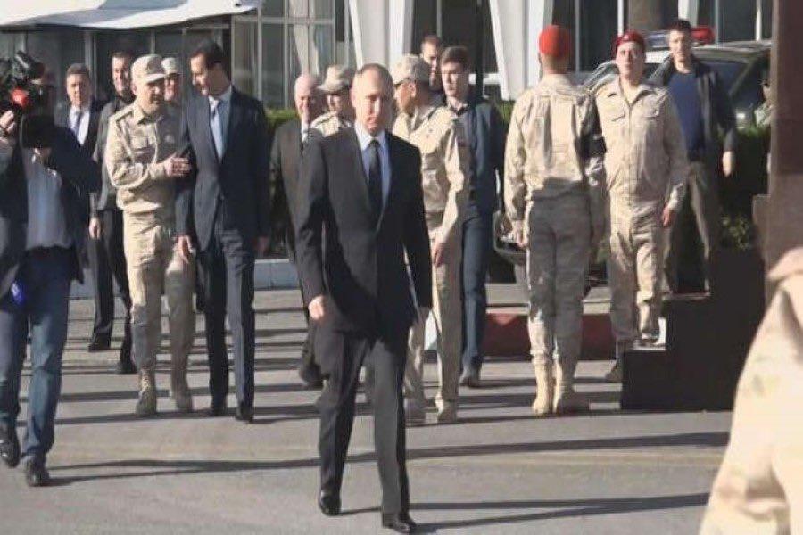 رسالة سرّية مسربة استنجد بها الأسد للتدخل الروسي في غوطة دمشق