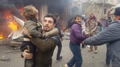 عشرات القتلى والجرحى في تفجيرين متزامنين شمالي سوريا