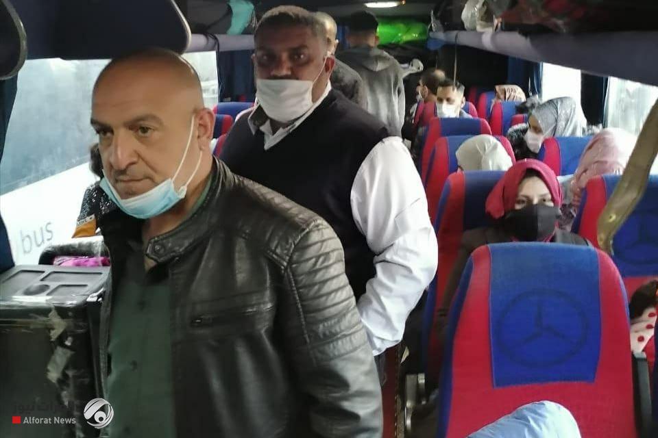 عودة 57 لاجئاً عراقياً طوعا من الأراضي التركية