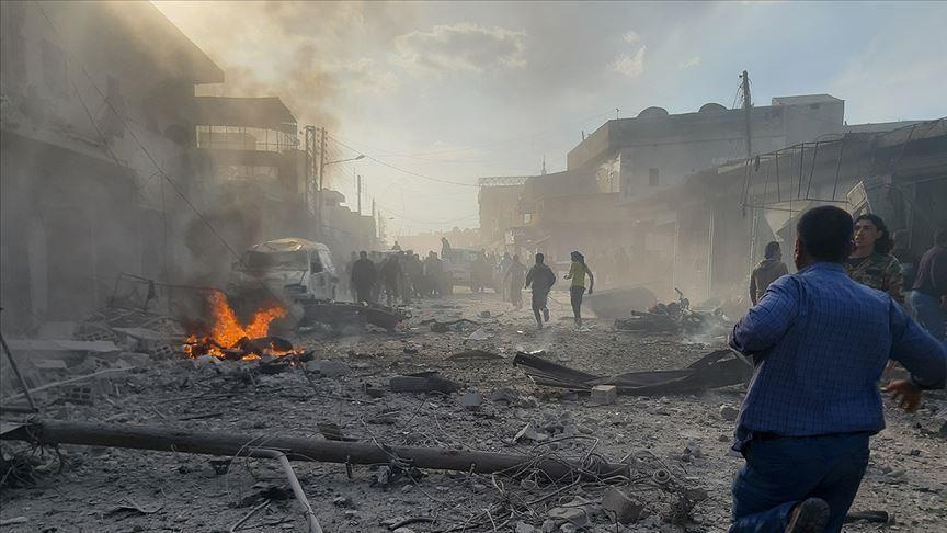 قتلى مدنيين بتفجير عبوة ناسفة وسط مدينة الباب