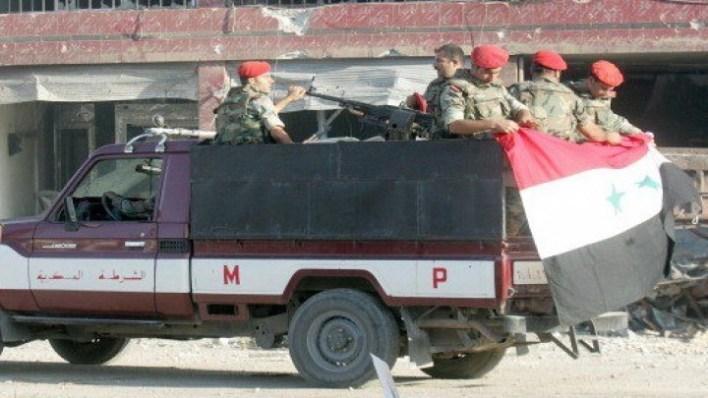 سوريا الشرطة العسكرية