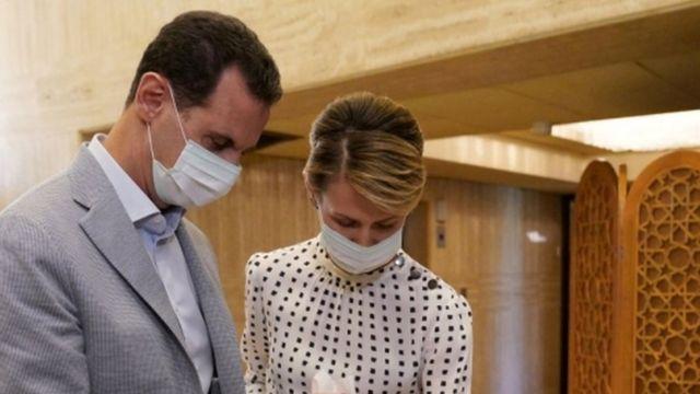 موسكو تأمل ألا يشتد كورونا على بشار الأسد وزوجته