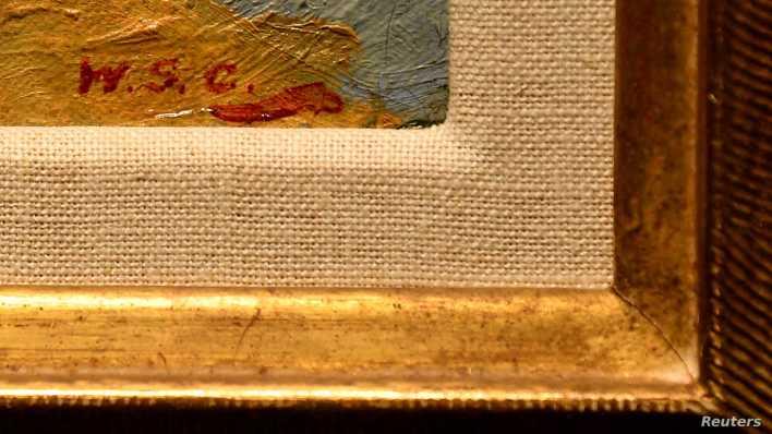 """أنجلينا جولي تبيع أهم لوحات """"تشرشل"""" بنحو 10 ملايين دولار"""