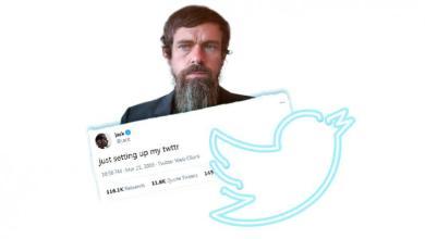 أول تغريدة لمؤسس التويتر تباع في المزاد العلني