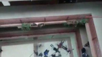 فيديو مرعب لحظة انهيار درابزين في جامعة بوليفيا تسبب بوفاة سبعة طلاب