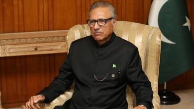 الإعلان عن إصابة الرئيس الباكستاني بفيروس كورونا
