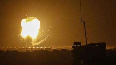 قصف إسرائيلي استهدف موقع داخل قطاع غزة